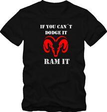 "T-Shirt Dodge ""If you cant dodge it ram it"" V8"
