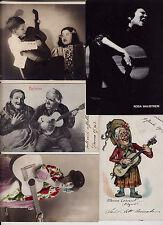 #MUSICA - LA CHITARRA- 5 cartoline