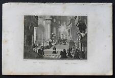 1836:NAPOLI,San GENNARO.Passepartout.AUDOT.Acciaio..