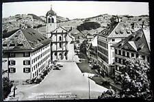 Switzerland~1950's TROGEN~ Landsgemeindeplatz ~ RPPC