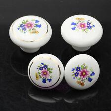 Cabinet Drawer Cupboard Kitchen Ceramic Door Knobs Locker Pull Handle Round