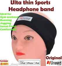 Sports Head Phones Headband Lycra Soft Sleep Headphones - Mobiles MP3 Ultra thin