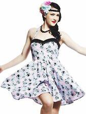 Hell Bunny Kleid Rockabilly Rockabella Tessa Petticoatkleid Rosa Pink 50s  5000