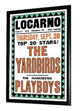 Yardbirds Concert Poster Swindon Locarno September 1965