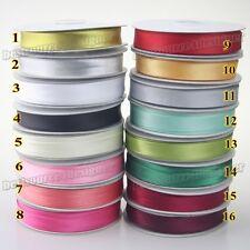 Satin bias tape lip fabric Edge Ribbon upholstery Sewing piping trims 20yards