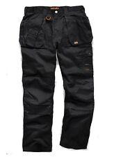 SCRUFFS WORKER PLUS TROUSER black workwear combat cargo WORK TROUSER work pants