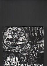 MUSTA KAPPELI - saatanassa ulvoneet LP 10 inch
