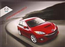 2010 10 Mazda Mazdaspeed 3 Series Original sales brochure MINT
