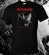 BLASPHEMY Fallen Angel of Doom Tee Shirt bestial raids warlust antichrist blood