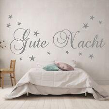 Wandtattoo Schlafzimmer Kinderzimmer Gute Nacht Sticker Sterne Wandaufkleber
