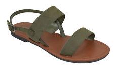 City Classified Shoe Women Basic Gladiator Sandal Ankle Strap Khaki Green WINNIE