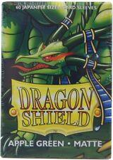 60 Dragon Shield Small Sleeves - Japanese Matte - Farbe wählen -