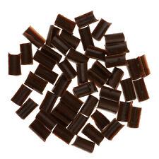 50pcs Hair Extension Keratin Fusion Glue Grains Set - Black Gold Brown White