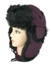 Scala Pronto Trapper Aviator Bomber Hat Faux Fur Unisex Junior