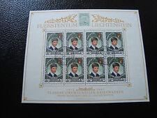 LIECHTENSTEIN - timbre/stamp Yvert et Tellier n° 862 x8 obl (Z2)