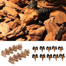 10x Mini Skull Vivarium Reptile Decor Aquarium Fish Tank Ornament Spider Cave