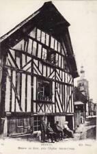 27 - cpa - BERNAY - Maison en bois