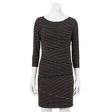 AB Studio Striped Tiered Sheath Dress - Women's Sz. S  NWT MSRP$60 very sexy!