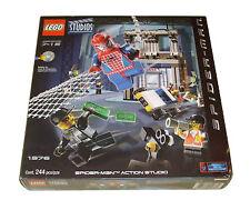 Lego 1376 Spider-Man Action Studio New Sealed Retired 2002 Studios Spider-Man