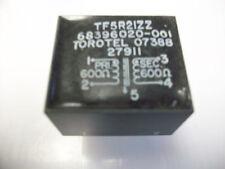 TOROTEL AUDIO TRANSFORMER TF5R21ZZ  600/600 OHMS
