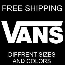 VANS vinyl sticker