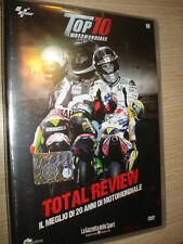 DVD N° 10 TOP 10 MOTOMONDIALE TOTAL REVIEW TOP10 IL MEGLIO DI 20 ANNI SEALED