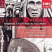 Dvorak: Symphonies 7, 8 & 9 'From the New World', Overture Carnaval, Scherzo Cap