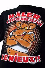 T-shirt Humoristique manche courte coupe homme 100% coton ( Fin de stock)a3