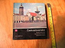 CESKOSLOVENSKO  PHOTOBOOK  HC 1970  B&W  &  CHROMATIC  PRINTS  ORIG. EXCELLENT!!