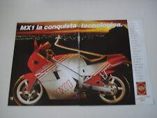 advertising Pubblicità 1988 MOTO GILERA MX1 MX 1 125