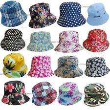 d2e16b75b3bfb4 Mens Ladies Bush Bucket Boonie Hat Festival Fishing Summer Sun Beach Hat Cap