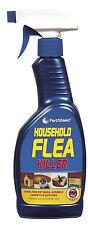 Flea Spray Pest Control Home Furniture Carpet Cat Dog Pets Bed Flea Killer 500ml