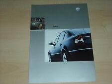 36750) VW Passat Polen Prospekt 2003