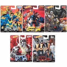 Pop Culture X-Men | Hot Wheels Premium Cars Set | Veicoli Mattel DLB45
