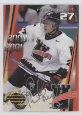 2000-01 CTM Quebec Remparts Autographs Autographed #15 Philippe Parent Auto Card