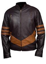 X-MEN Wolverine logans XO réel / veste en cuir synthétique
