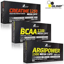 Creatine Monohydrate + BCAA + Argipower L-Arginine Muscle Growth Anabolic Pills