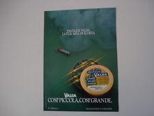 advertising Pubblicità 1981 PASTIGLIE VALDA
