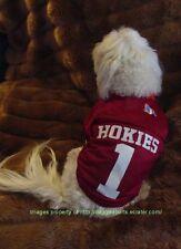 Virginia Tech Hokies Football Nylon Dog Jersey Size Choice Unisex Style