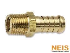 "Brass Tailpiece Air Fitting Jamec Pem Male Industrial 5mm - 25mm 1/8"" - 1"" BSP"
