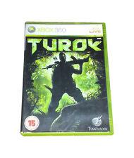Turok Xbox 360 NEUF et scellé UK stock original Release Not Budget Re-Release