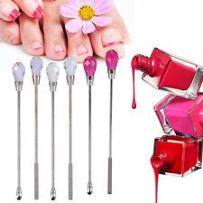 Nail Spatula Picker Spoon Acrylic Gel Powder Mix Stick Stirring Rod Manicure OB