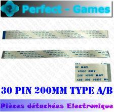 Nappe ruban flat cable flex ribbon FFC 30 pin 20cm 200mm 0.5 pitch Type A B