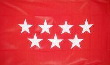 MADRID FLAG 5X3 FEET SPAIN Spanish Espana Espanol flags