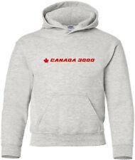Canada 3000 Retro Logo Canadian Airline Hoody
