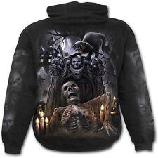 Spiral Direct LIVING DEAD Hoody,Reaper/Gothic/Biker/Horror/Pullover/Hood/Hoodie
