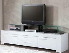 TV-Schrank Aufsatz Fernseh-Tisch Glasplatte Glastisch Mobiliar TV-Tisch Schrank
