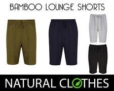 Bamboo Lounge Shorts Bottoms Nightwear Pyjama Regular Cut M-XXL Natural Clothes