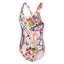 NEW Speedo NY Wonderland Leaderback 42H30/5418 - Girls Swimwear