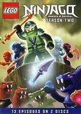 LEGO Ninjago: Masters of Spinjitzu - Season Two (DVD, 2013, 2-Disc Set) NEW